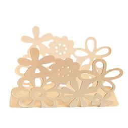 1 Pc Napkin Holder Creative Hollow-out Floral Towel Rack for