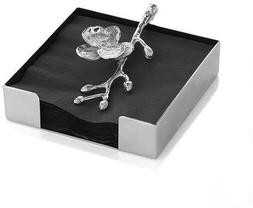 Michael Aram 111804 White Orchid Cocktail Napkin Holder by M