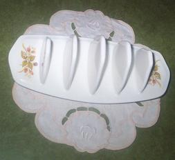 4 Slot Porcelain Toast Holder Rack from England -Napkin or L