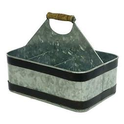 Artland Masonware Carry-All Serveware, Galvanized Metal