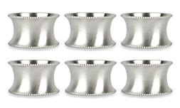 DII Modern Chic Napkin Rings for Dinner Parties, Weddings Re