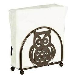 Home Basics Owl Napkin Holder, Bronze