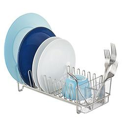 InterDesign Classico Compact Kitchen Dish Drainer Rack for D