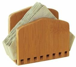 Lipper International 8860 Bamboo Wood Adjustable Napkin Hold