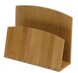 Meadowsweet Kitchens Bamboo Recipe File or Napkin Holder