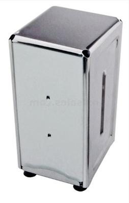 New Star 24074 Stainless Steel Tall Fold Napkin Dispenser, 3