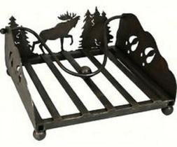 River's Edge Products Lazer Cut Moose Napkin Holder