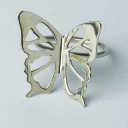 TAG Butterfly Napkin Rings, Set of 4
