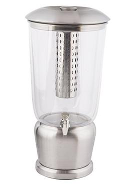 TableCraft Large 5 Gallon Drink Dispenser with Fruit Infuser