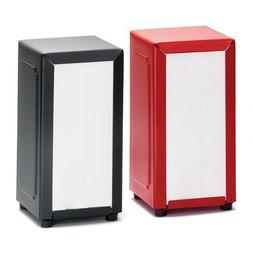 Value Series 2212 Napkin Dispenser Red or Black Finish
