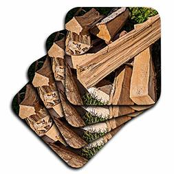 3dRose Alexis Photography - Objects - Pile of firewood lays