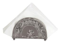 Old Dutch Antique Embossed Victoria Napkin Holder, 7-1/4 by
