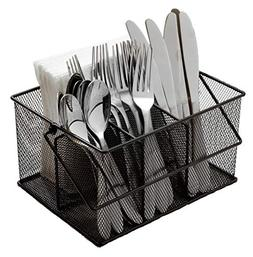 Ashman Silverware Caddy - Flatware, Cutlery, and Utensil Org