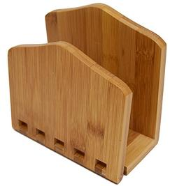 bamboo expandable napkin holder h