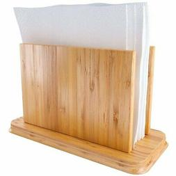 Home Intuition Bamboo Napkin Holder