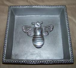MARIPOSA BEADED COCKTAIL NAPKIN HOLDER BUMBLEBEE WEIGHT 8""