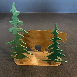 Bear Napkin holder or letter holder, strong metal high quali