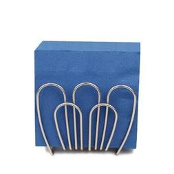 Spectrum Bloom Napkin Holder - Color Satin Nickel