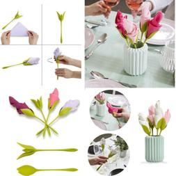 Bloom Napkin Holders for Making Original Table Arrangements
