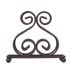 Bronze Wire Napkin Holder Home Basics Scroll Collection Dini
