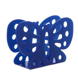 Butterfly Napkin Holder Blue Plastic Butterfly Shaped Napkin