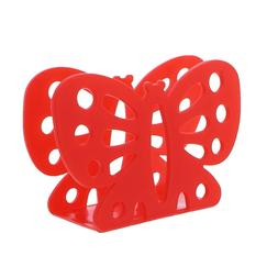 Butterfly Napkin Holder Red Plastic Butterfly Shaped Napkin