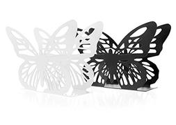 Juvale Set of 2 Butterfly Design Napkin Holders - Modern Nap