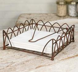 Carson Napkin Caddy  By  Colonial Tin Works