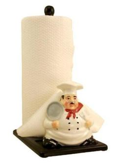Chef Paper Towel And Napkin Holder Ceramic