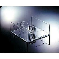 """Clear Acrylic Kitchen Napkin Holder 6""""inch Grainware For The"""