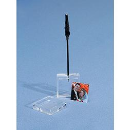 Clear Acrylic Photo placecard Holder 1ct