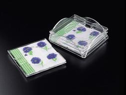 cocktail napkin coaster set