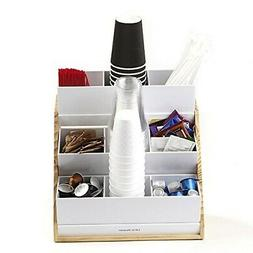 Mind Reader Condiment and Accessories Organizer, 9 Compartme