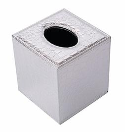 S Forever Cube Kleenex Box Holders PU Leather Square Roll Ti