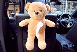 cute bear car tissue box cover napkin