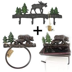 Lulu Decor, Cast Iron Key Holder and Coat Hook