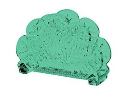 Dublin Standing Napkin Holder Full Aqua Color By TableTop Ki