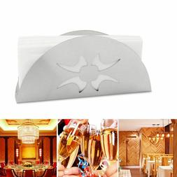 Fan Shaped Napkin Holder Paper Towel Rack Kitchen Accessorie