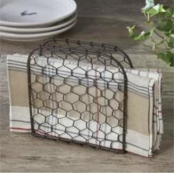 Farmhouse Chicken Wire Napkin Holder By Park Designs Farmhou