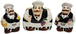Fat Chef Ceramic Hand Painted Kitchen