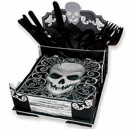 Amscan Fright Night Napkin & Cutlery Holder - 19.5cm x 20cm