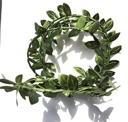 Elegant Blooms & Things Small Green Boxwood Leaf Faux WIre G