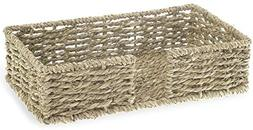 Boston International Guest Towel Napkin Caddy, Seagrass