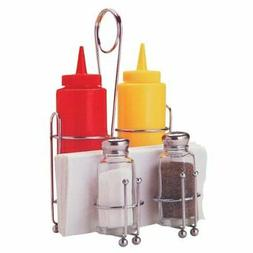 Tablecraft H594108 Products Retro Condiment Caddy Set, 1 Pac