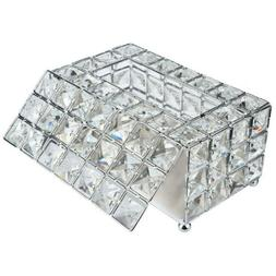 Crystal Home Room Car Hotel Tissue Box Cover Paper Napkin Ho