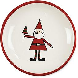 Pavilion Gift Company Holiday Hoopla Santa Ceramic Christmas