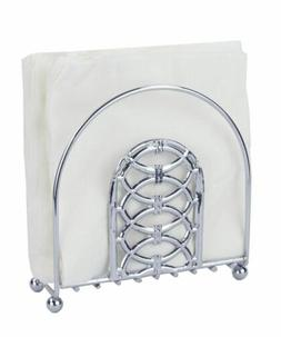 Home Basics Infinity Collection Napkin Holder, Chrome - NH45