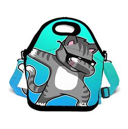 Insulated Lunch Bag Lunch Pack for Adults/Girls/Boys/Kids, D