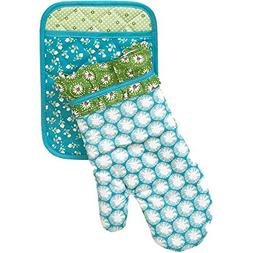 The Pioneer Woman Kitchen Set Pot Holder and Oven Mitt Set R