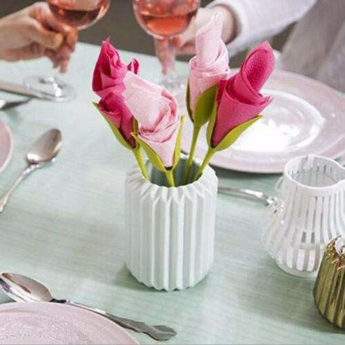 4PCS Holder Plastic Napkin Buckle